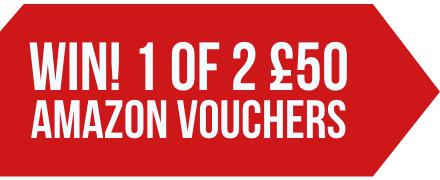 WIN! 1 of 2 £50 Amazon vouchers