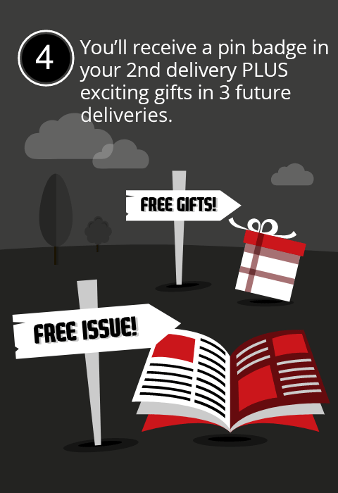 You'll receive a Wallet in your 3rd delivery PLUS exciting gifts in 3 future deliveries.